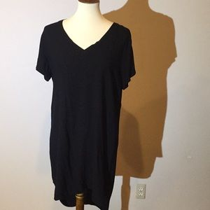 cloth & stone • Dress Long Tee Shirt V Neck